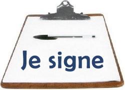 je signe