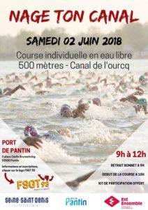 Nage ton canal (FSGT93) @ Pantin | Pantin | France