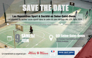 Rencontres Sport & Société en Seine-Saint-Denis @ CCI Bobigny | Bobigny | Île-de-France | France