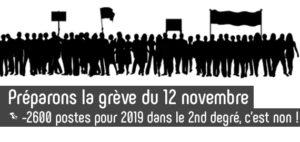 cdc6bef09e9 Télécharge ici le Communiqué de Presse de la FSU pour la grève du 12 Nov  2018