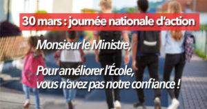 Mobilisation éducation ! @ Panthéon-Paris