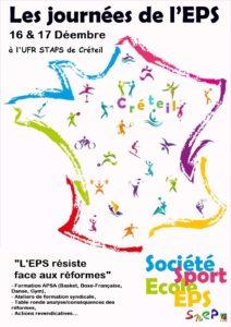 Journées de l'EPS @ STAPS Créteil